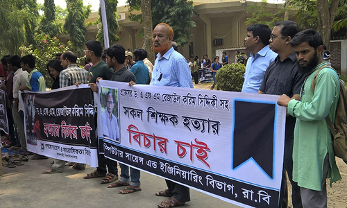 New 'hit-list' threatens Bangladeshi teachers, politicians
