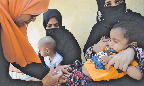 High transmission season: a major challenge for polio programme