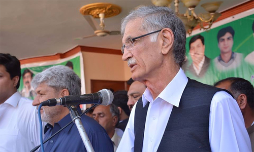Relatives of KP CM, opposition leader given sapling contracts