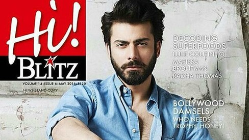 Another month, another magazine cover: Fawad smoulders in his latest shoot in India