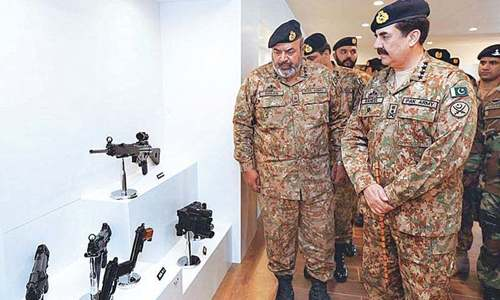 Saudi Arabia largest importer of Pakistani arms