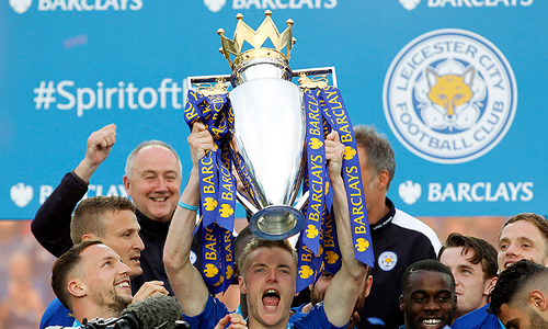 In pictures: Leicester complete fairytale, lift Premier League trophy