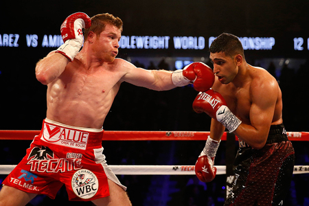 In pictures: Alvarez 'monster punch' knocks Amir Khan out