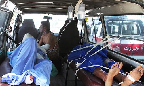 Afghan road crash inferno leaves at least 73 dead