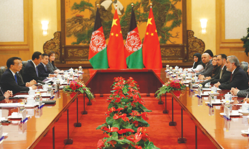 Kabul backs Beijing stance on S. China Sea