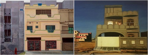 In her retrospective, Risham Syed laments the present of her home city Lahore