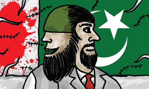 What is lacking in Pakistan's response to terrorism?