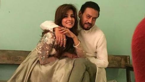 Here's a sneak peek at Saba Qamar's Bollywood debut with Irrfan Khan