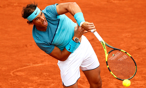 Nadal cruises into French Open second round