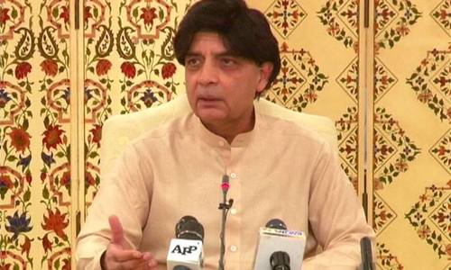 Nisar slams US for violating Pakistan's sovereignty, sabotaging Afghan peace talks