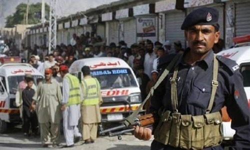 Two policemen killed, six others injured in Quetta IED blast