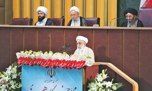 Hardline cleric voted leader of Iran's Assembly of Experts