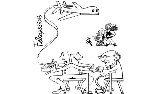 Cartoon: 25 May, 2016