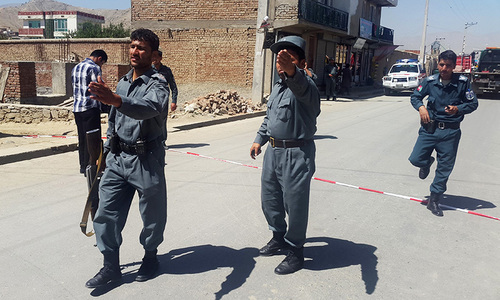 10 killed in Kabul suicide bombing
