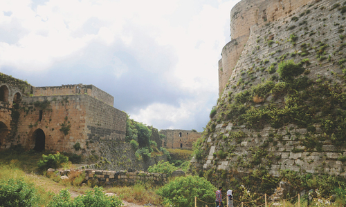 France helps Syria restore 900-year-old castle