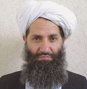 New Taliban leader rejects peace talks
