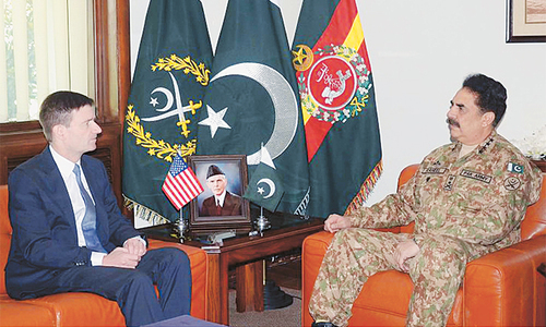 Army chief asks US to desist from unilateral actions