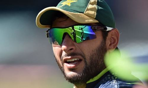 I am available if Pakistan wants me: Shahid Afridi