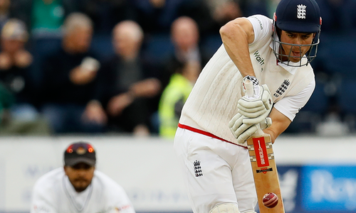 Cook becomes first Englishman to score 10,000 Test runs