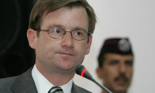US ambassador 'pleased' after treatment at hospital in Islamabad