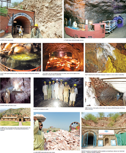 Khewra salt mine — a popular tourist spot