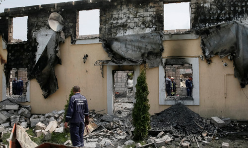 17 die in fire at Ukraine home for elderly