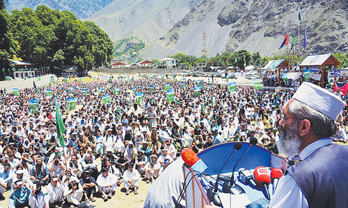 JI chief warns of anti-corruption march to Islamabad