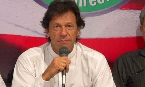 Imran accuses Sharif of running a 'kingdom'