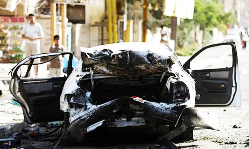 Suicide car bombing kills at least eight people in Baghdad
