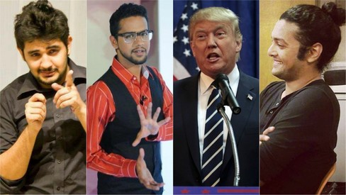 4 Pakistani stand-up comedians roast the biggest troll of them all —  Donald Trump