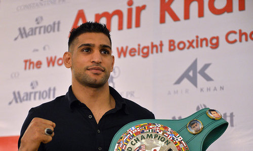 Amir Khan to organise Pakistan's first ever international boxing event