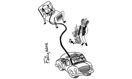 کارٹون : 1 جون 2016