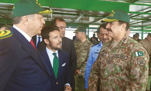Army chief witnesses joint military exercise in Turkey