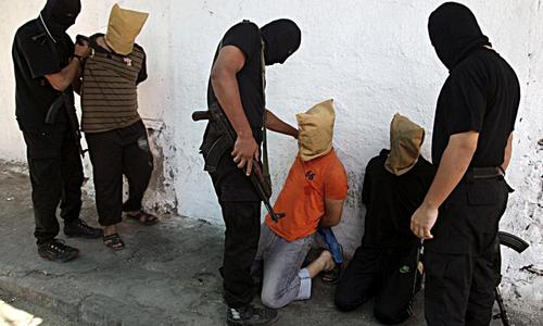 Hamas executes three in Gaza, drawing UN condemnation