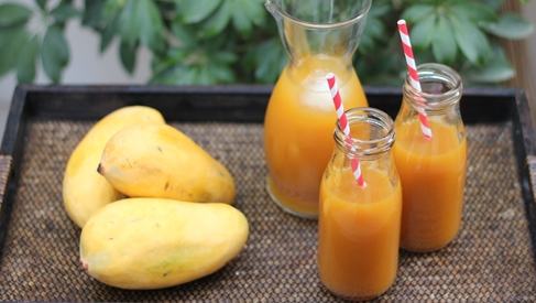 Got mangoes? Put them to use in Mango Iced Tea and Mango Trifle!