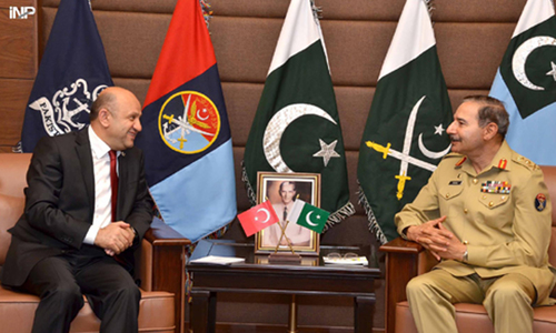 Turkish minister praises Pakistan Army's role