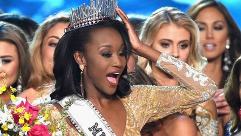 Ex-Army officer Deshauna Barber crowned Miss USA