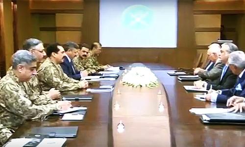 High-level civil-mil huddle resolves to act against hostile intelligence agencies