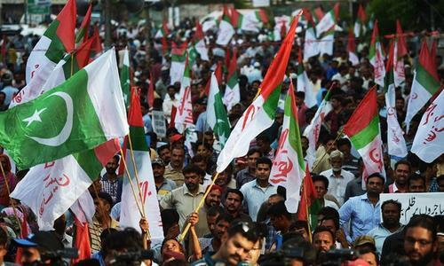 Rangers illegally stopping party from peaceful protest: MQM
