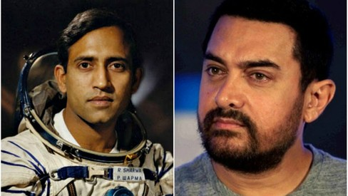 Is Aamir Khan going to play an astronaut in his next film?
