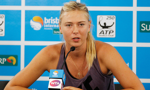 Sharapova to appeal two-year doping ban
