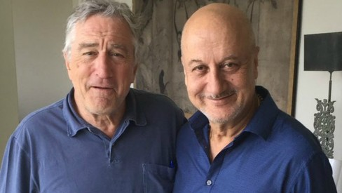 Here's what happened when Robert De Niro invited Anupam Kher to lunch