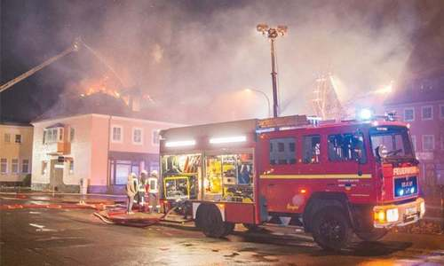 'Ramazan row' behind fire at German refugee shelter