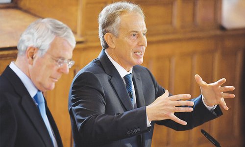Former PMs Blair and Major warn Brexit would threaten UK unity