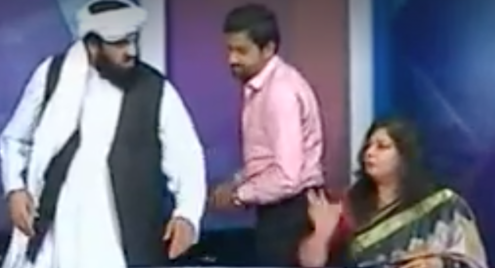 JUI-F Senator 'verbally abuses' female analyst during TV talk show