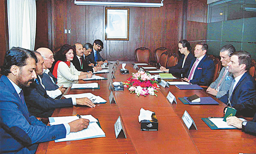 Pakistan, US trade blame for bad patch in ties
