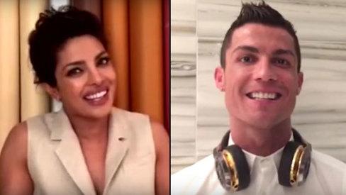 Check out Priyanka, Ronaldo lip-sync to Enrique's latest song!