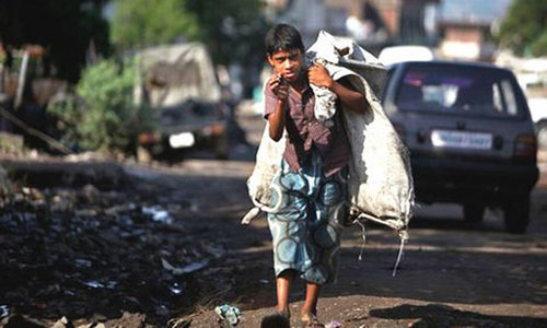 '12.5 million children in Pakistan are involved in labour'