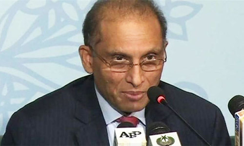 Angoor Adda checkpost not handed over to Afghanistan: Aizaz