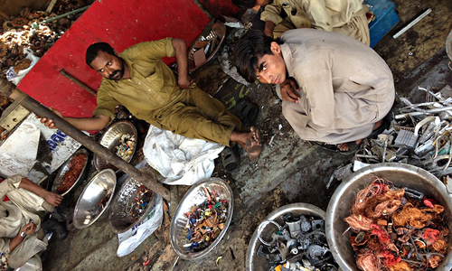 40pc of food in Pakistan is wasted